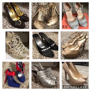 Shoes - Heels sizes 5.5 to 7